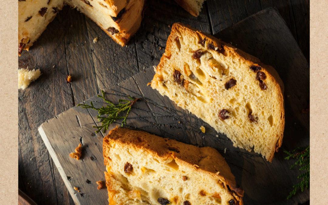 Receta Panettone saludable con mantequilla Únicla