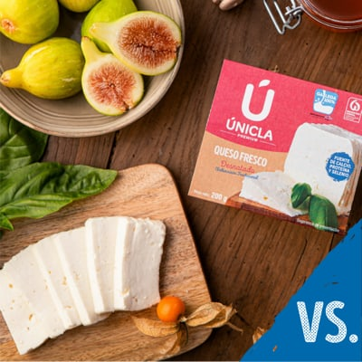 Traditional cheese vs ultra-filtered cheese
