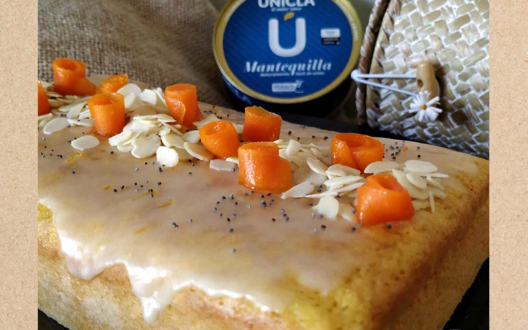 Cake de zanahoria y glaseado de cítricos