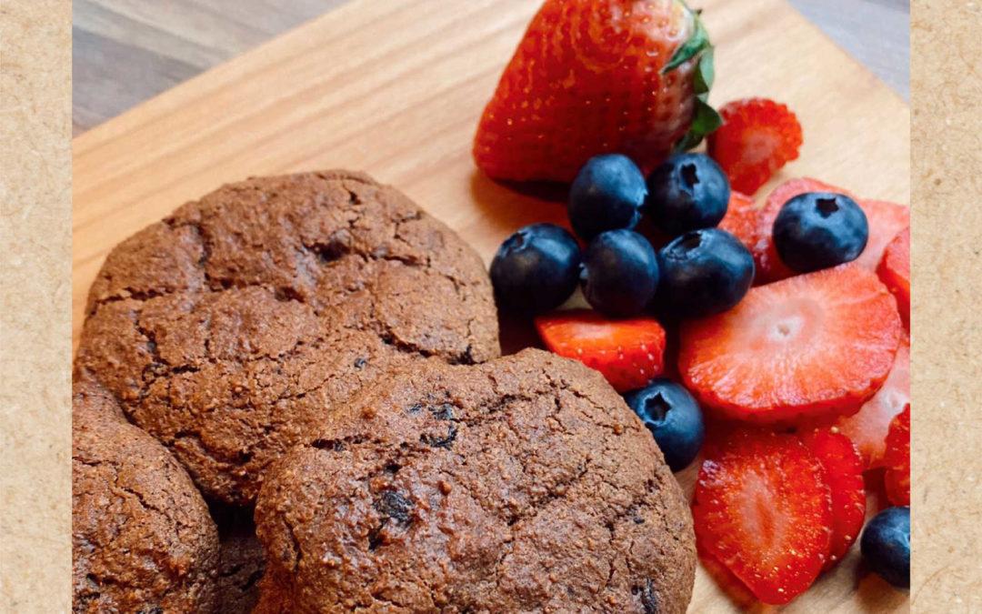 Cookies saludables de Ana Peleteiro