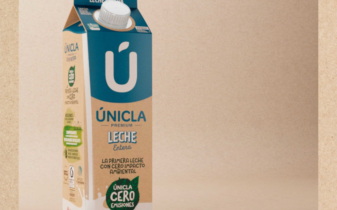 Únicla, la primera leche CERO EMISIONES